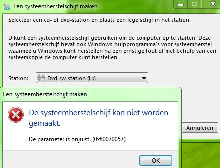 windows 7 systeemherstel